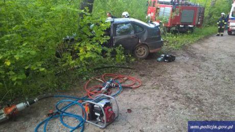Kierujący seatem 21-latek był pijany i nie posiadał uprawnień do kierowania