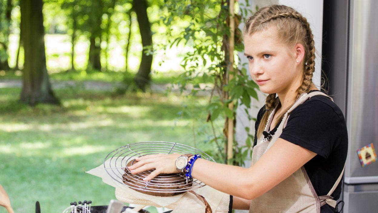 Natalia Chwarścianek piecze  głównie dla rodziców. Jej popisowe danie to piernik staropolski z domowymi powidłami śliwkowymi (fot. TVP)
