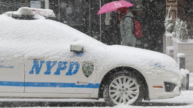 Zima na wschodzie USA w pełni (fot. PAP/EPA/JASON SZENES)