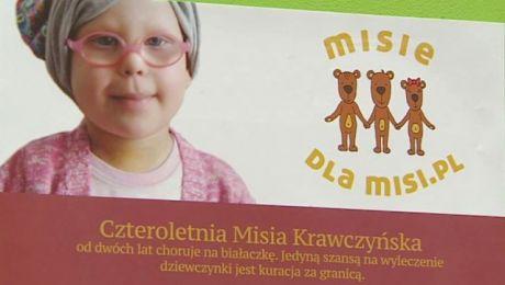 Pomagają dziewczynce chorej na białaczkę