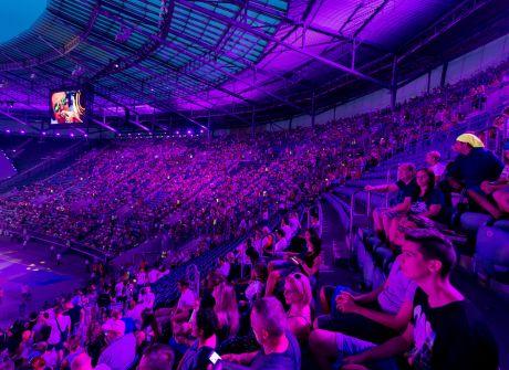 Cały świat na stadionie we Wrocławiu – ceremonia otwarcia TWG 2017