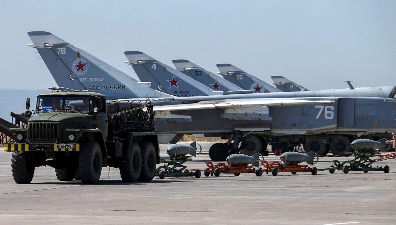 Syria stała się areną starć innych państw (fot.  REUTERS/Vadim Savitsky/Russian Defense Ministry via Reuters)