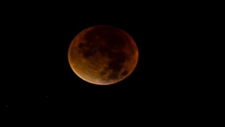 Zdjęcia od widzów: Zaćmienie księżyca
