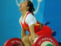 Chen Yanqing – mistrzyni w kategorii 58 kg (fot. Getty Images)