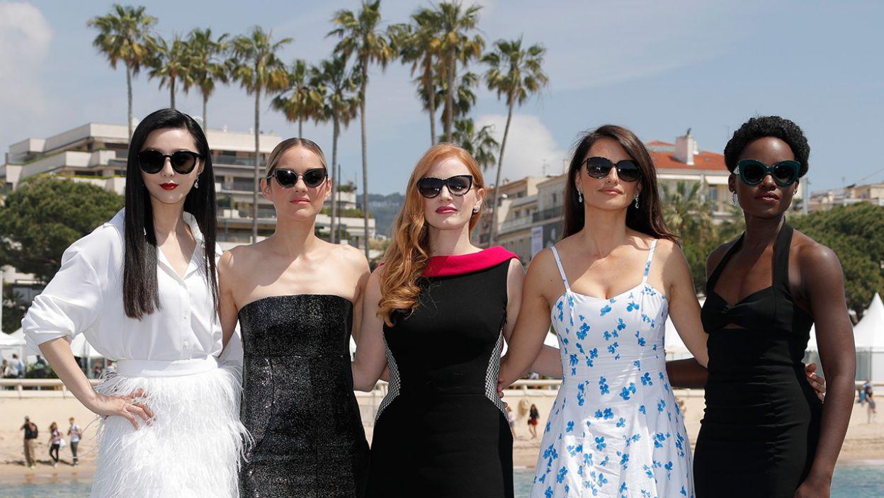 Siła kobiet w Cannes (fot. REUTERS/Eric Gaillard)