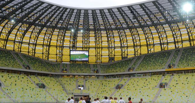 Pierwszym międzynarodowym gościem na PGE Arenie była reprezentacja Niemiec (fot. PAP)