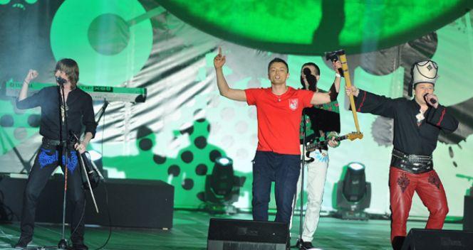 Koncertowa zabawa (fot. TVP/Jan Bogacz)