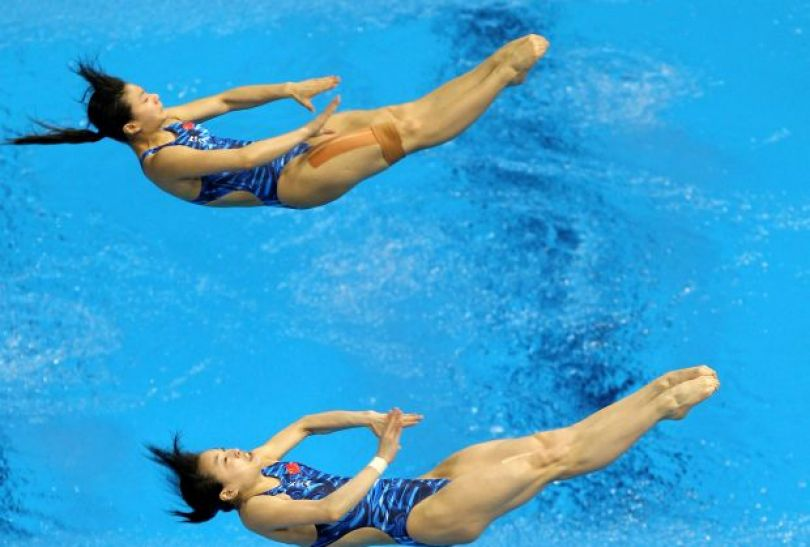 He Zi i Wu Minxia (fot. Getty Images)