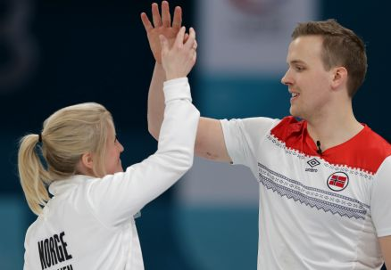 Curling: norweski mikst otrzyma medal jeszcze w Pjongczangu
