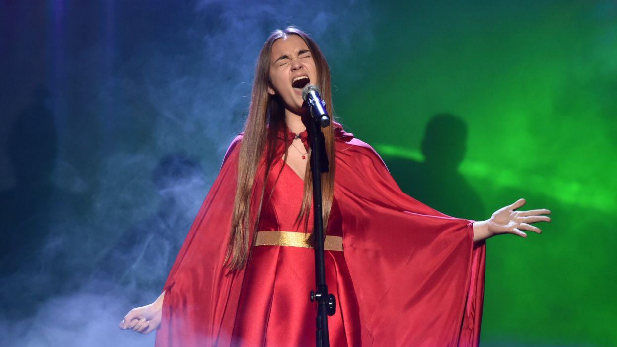 """Oliwia nareszcie spełniła swoje marzenie – zaśpiewała dla Edyty piosenkę, która była napisana dla gwiazdy do musicalu """"Metro"""" (fot. Ireneusz Sobieszczuk)"""