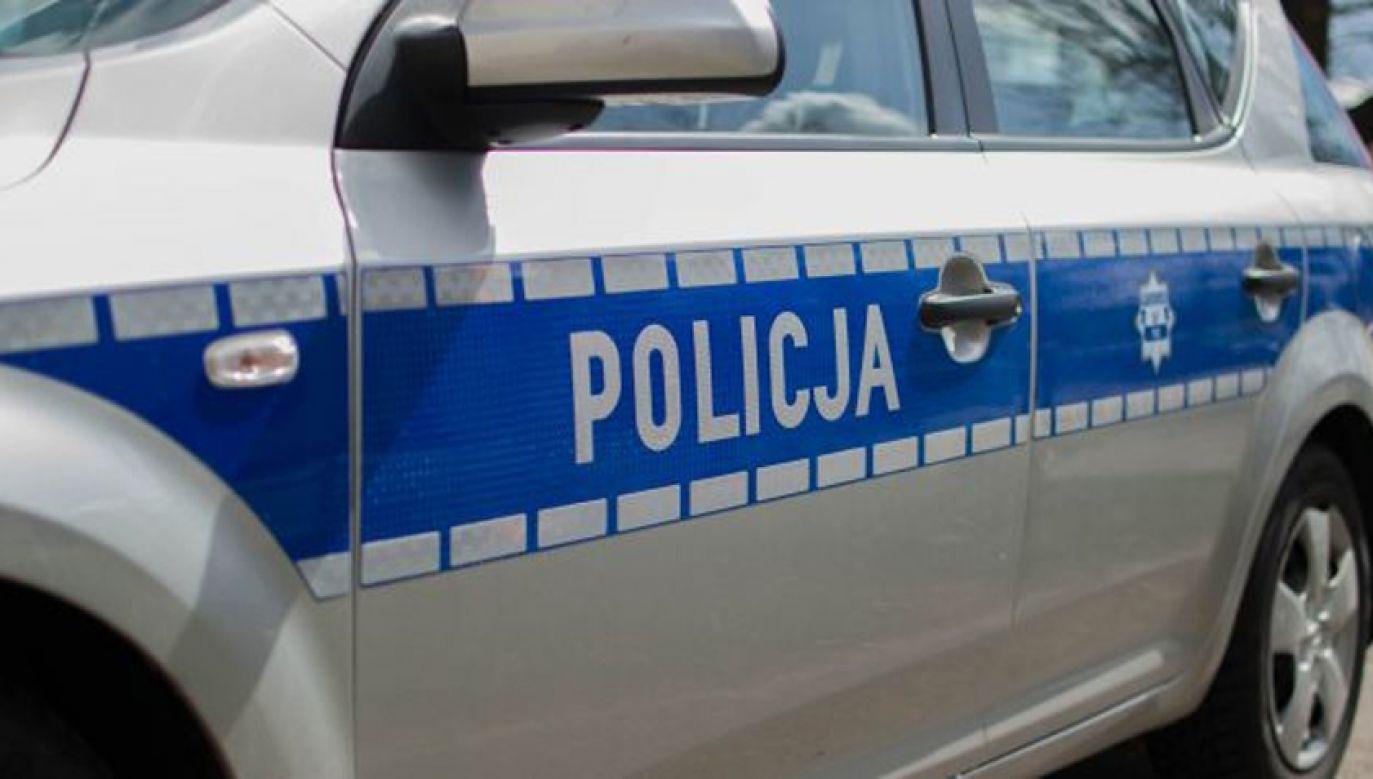 Policyjni technicy pracowali na miejscu zdarzenia