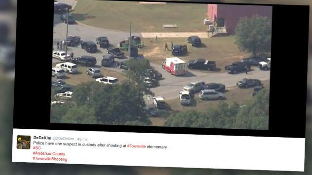 Do strzelaniny doszło przed godz. 2 lokalnego czasu (fot. Twitter)