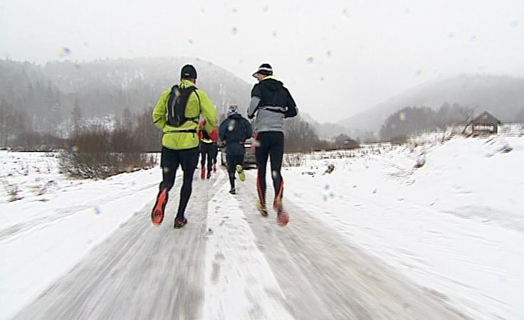 Biegacze szukali wyzwań w Bieszczadach.