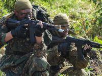 """Rosyjski specnaz razem z białoruskimi i serbskimi komandosami. Walczą z """"elementem antypaństwowym"""""""