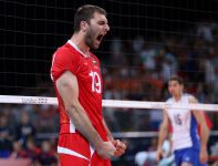 Cwetan Sokołow był jednym z najmocniejszych punktów Bułgarów (fot. Getty Images)