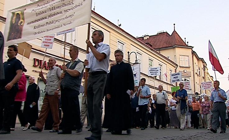Ulicami Rzeszowa przeszedł  Marsz Trzeźwości.