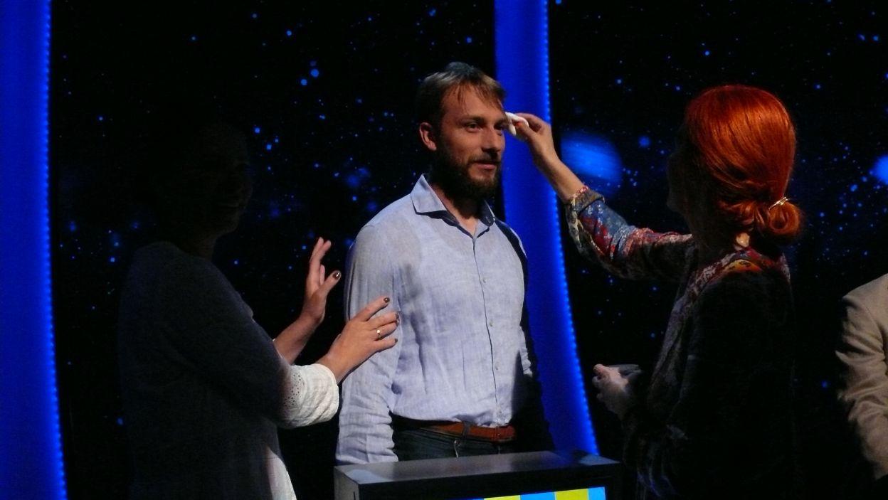 Pan Marcin przygotowuje się do udziału w 9 odcinku 107 edycji