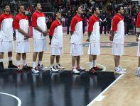 Drużyna Tunezji w trakcie hymnu narodowego (fot. Getty Images)