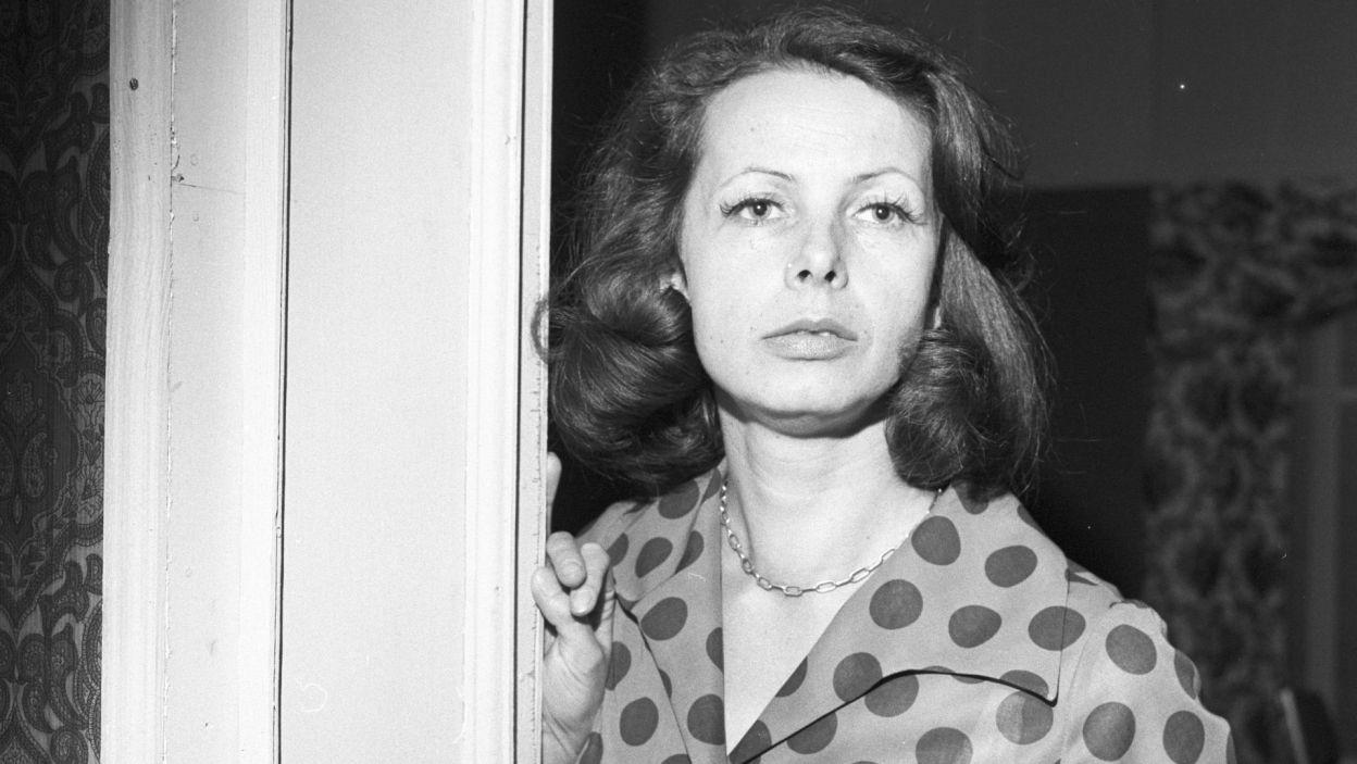 """4 marca zmarła Grażyna Staniszewska, pamiętna Danusia z """"Krzyżaków"""" (fot. TVP)"""