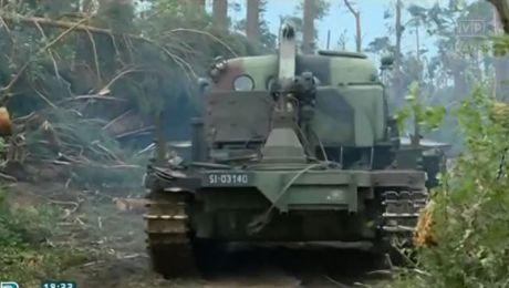 Żołnierze pomagają w udrożnieniu Brdy