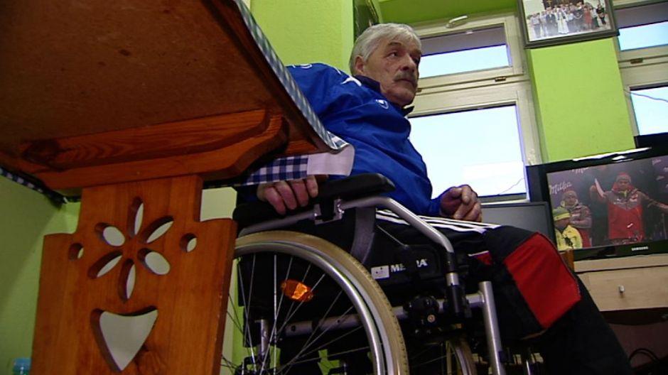 Koledzy z boiska pomogli mu zdobyć protezę