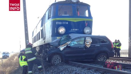 W okolicy wypadku są duże utrudnienia (fot. Twoje Info)