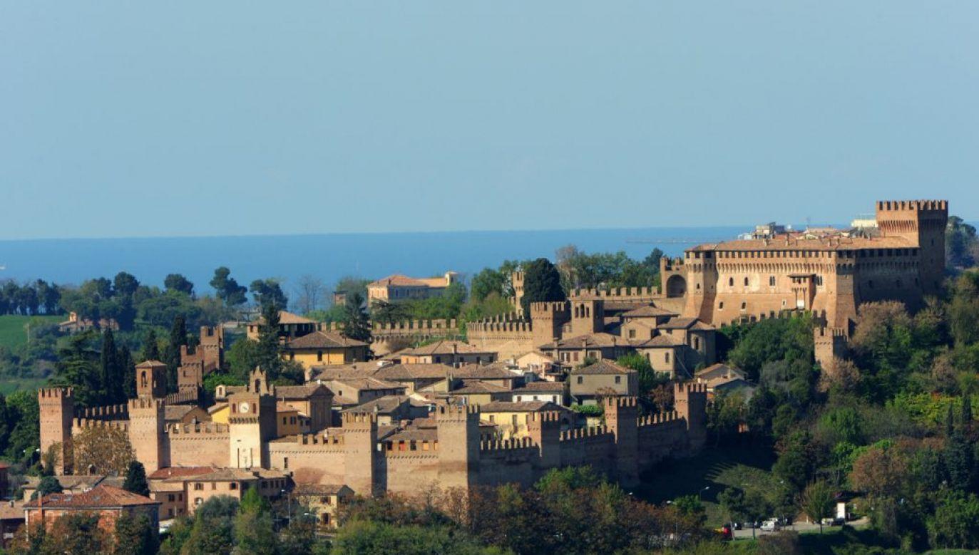 Średniowieczna Gradara w Marche wygrała tegoroczny konkurs na najpiękniejsze miasteczko we Włoszech (fot. tt/Chiara Civolani)
