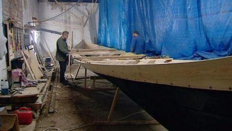 W Elblągu powstaje łódź wikingów