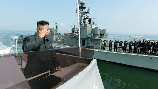 Strzały na Morzu Żółtym. Jednostka Korei Płn. wpłynęła na sporne wody