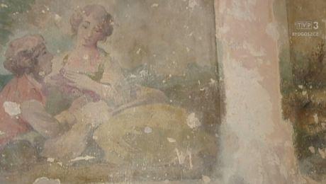 Odkryli malowidło w stylu rokoko podczas remontu klatki w kamienicy