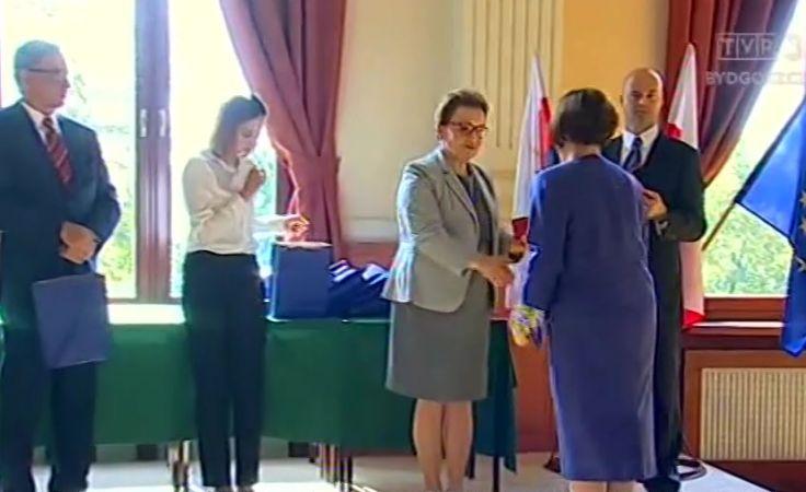 Minister Anna Zalewska z wizytą w Bydgoszczy