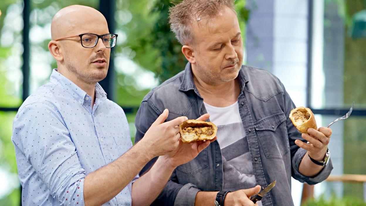 Mimo wszelkich starań kucharzy, jurorzy mieli zastrzeżenia do potraw (fot. TVP)