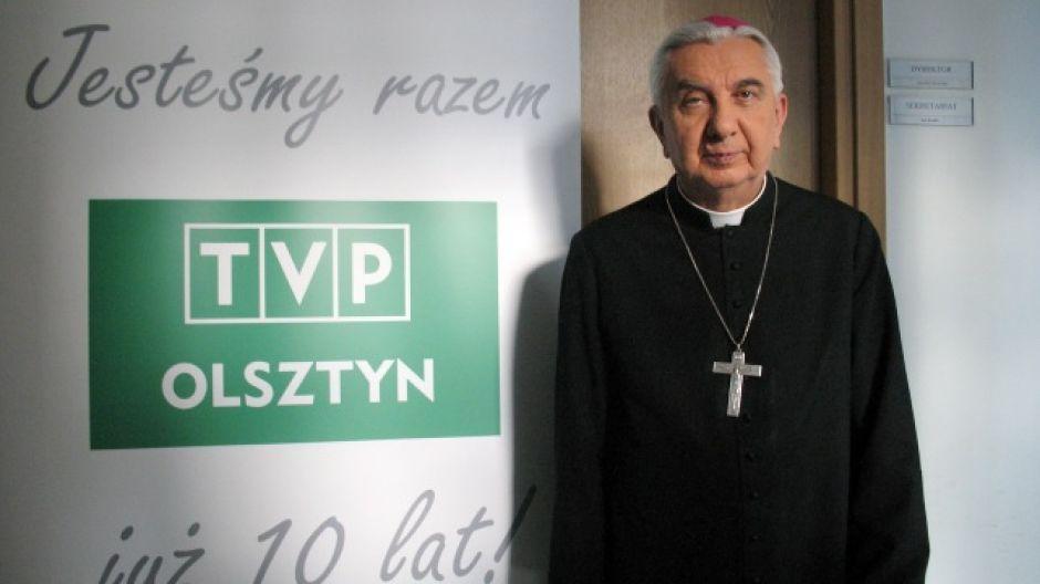 Abp Wojciech Ziemba, metropolita warmiński.
