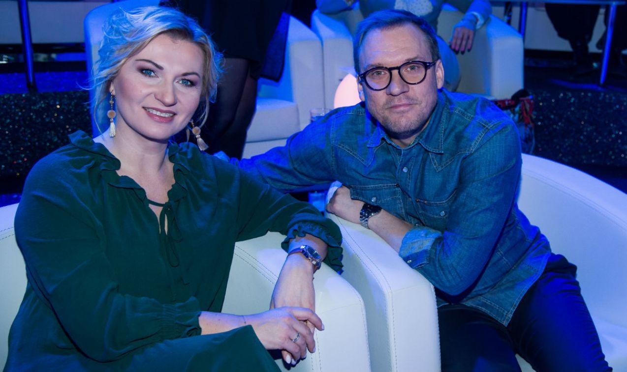 Marzena Kawa i Ziemowit Pędziwiatr tym razem nie o pogodzie  (fot. Jan Bogacz)