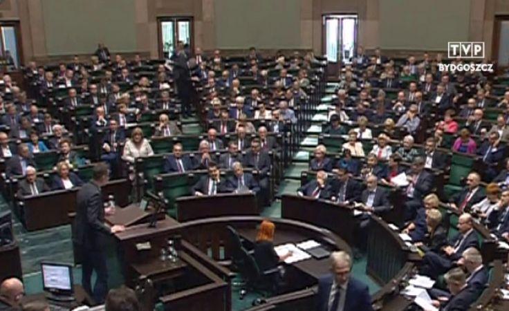 Parlamentarzyści żegnają się z Wiejską
