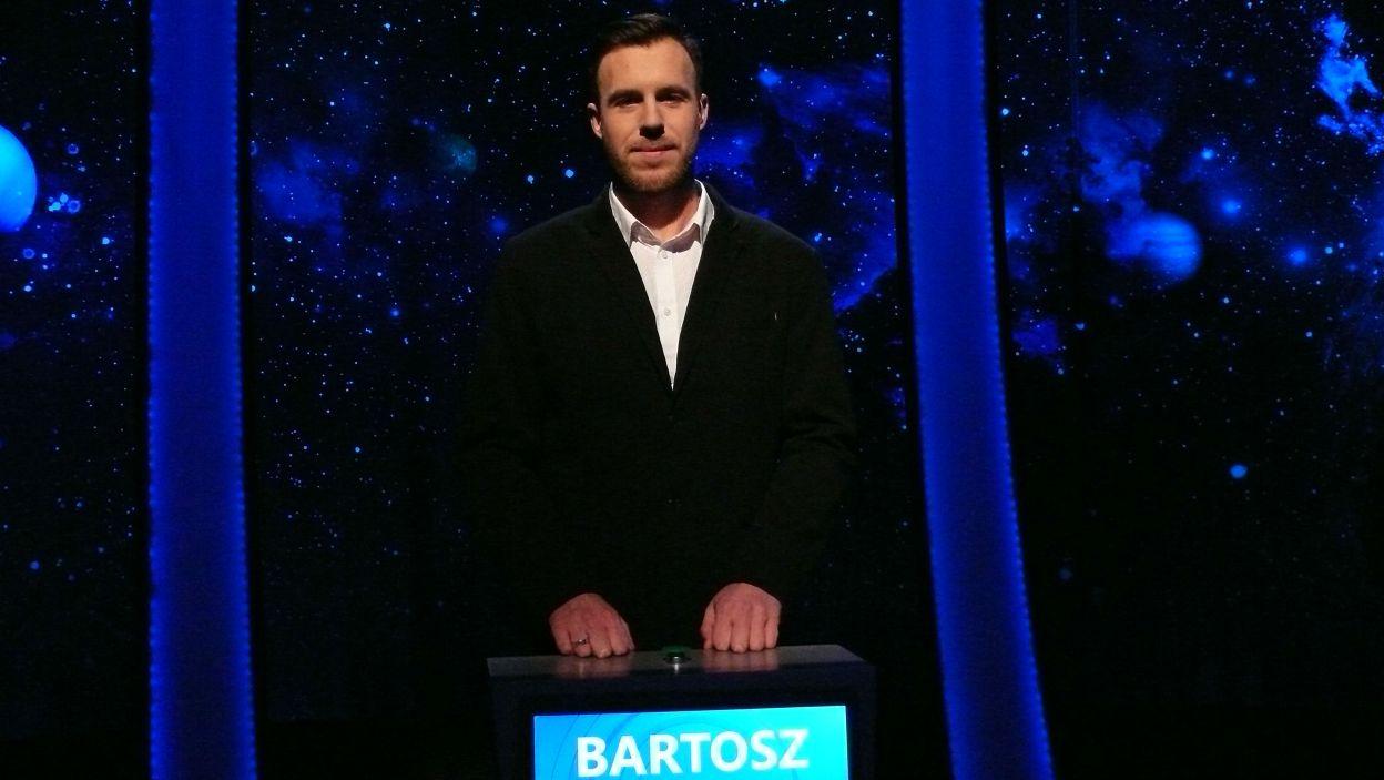 Zwycięzcą 1 odcinka został pan Bartosz Wyndrowny z Poznania