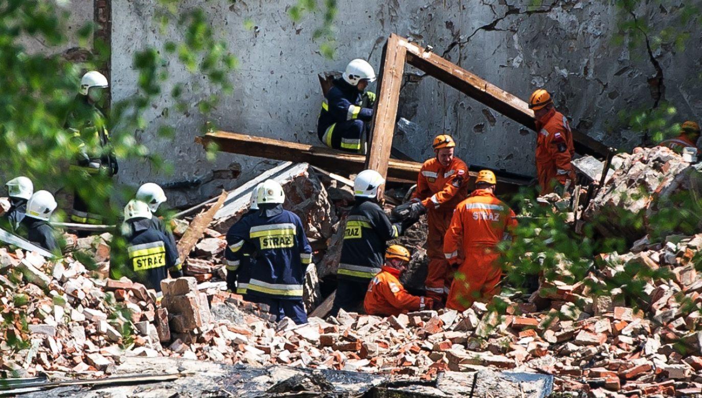 W eksplozji zginęły 2 osoby, a 15 zostało rannych (fot. arch.PAP/Maciej Kulczyński)