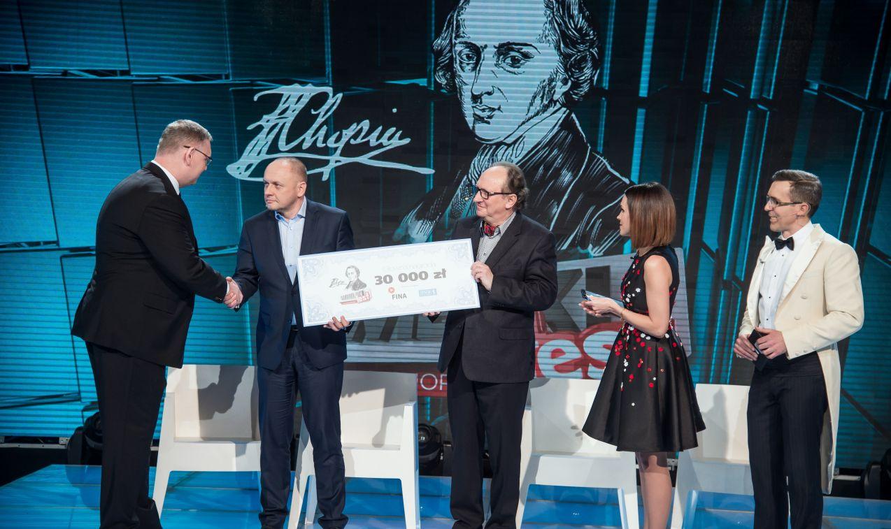 Zwycięzcy swoją nagrodę przekazali organizacji charytatywnej Caritas (fot. J. Bogacz/TVP)
