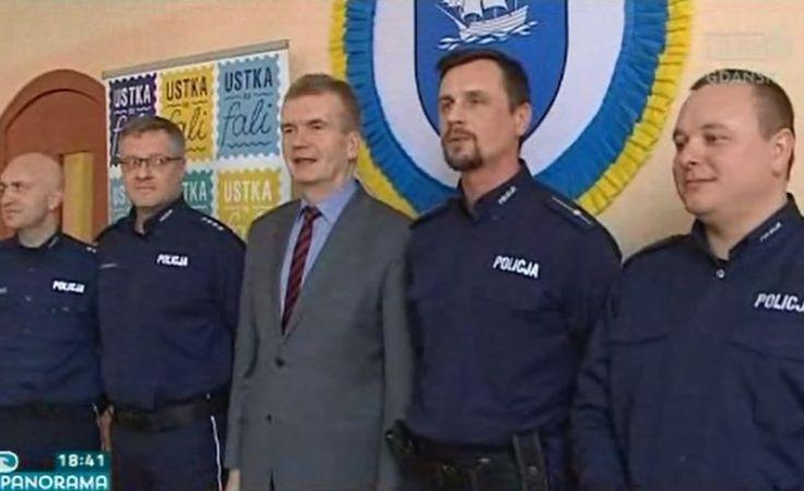 Policjanci nagrodzeni za uratowanie tonącego