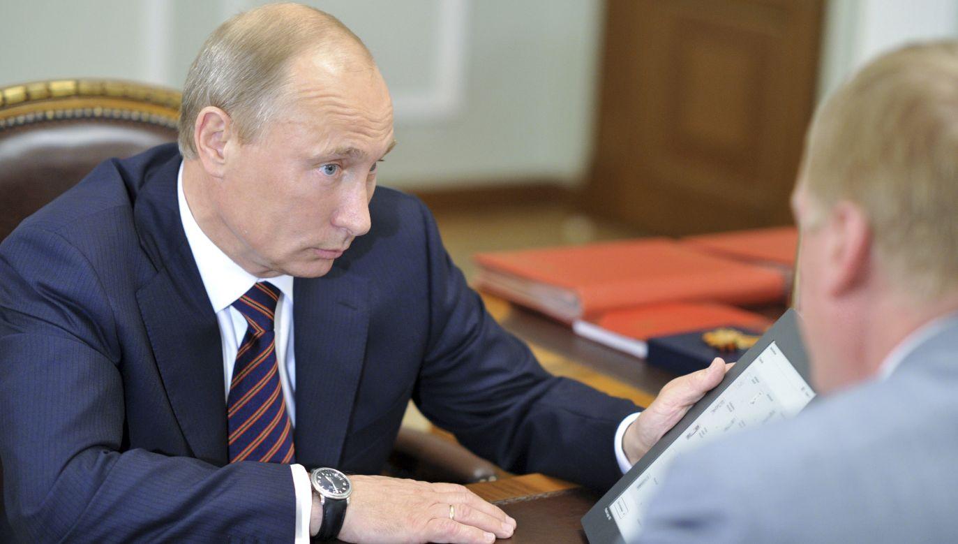 Kreml coraz bardziej stawia na ataki w internecie (fot. REUTERS/Alexei Nikolsky/RIA Novosti/Pool)