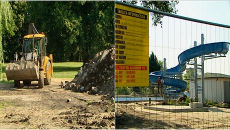Nie widać końca remontu. Mieszkańcy czekają na basen 2 lata