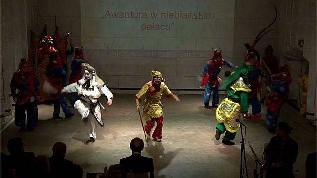 Aktorzy z Opery Pekińskiej zachwycili publikę (fot. YT/UŚTV)