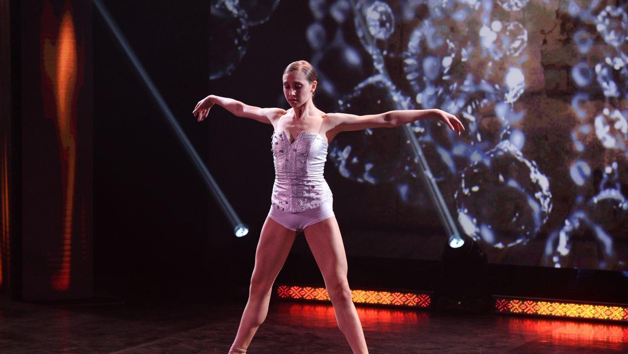 19-letnia Paulina jest uczennicą Ogólnokształcącej Szkoły Baletowej im. Ludomira Różyckiego w Bytomiu (fot. TVP/Jan Bogacz)