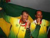 Wicemistrzowie w klasie Star – Robert Scheidt i Bruno Prada (fot. Getty Images)