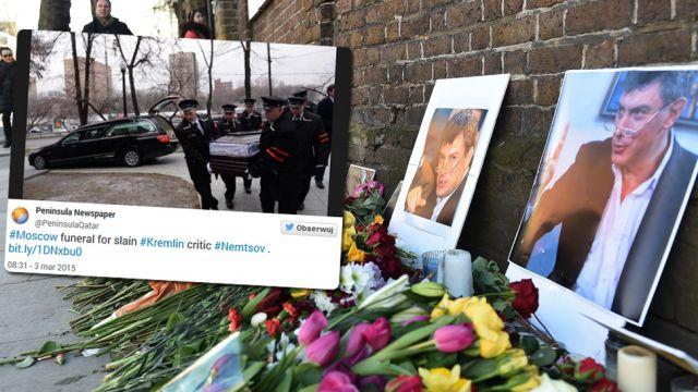 Moskwa żegna Niemcowa. Polska delegacja oddała hołd [RELACJA]