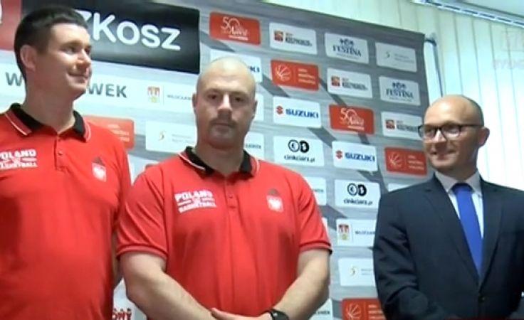 Kadra koszykarzy we Włocławku