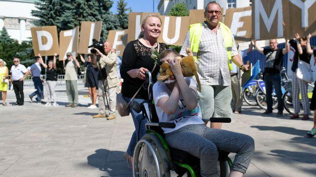 """Koniec protestu w Sejmie. """"Decyzję podpowiedział głos rozsądku"""""""