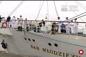 Dar Młodzieży zawinął do kolejnego portu