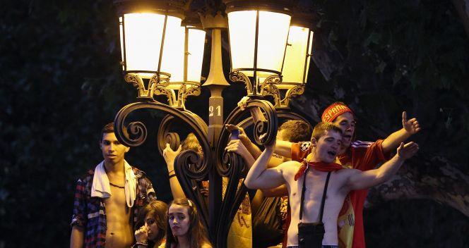 Zabawa w Madrycie trwała do białego rana (fot. Getty Images)