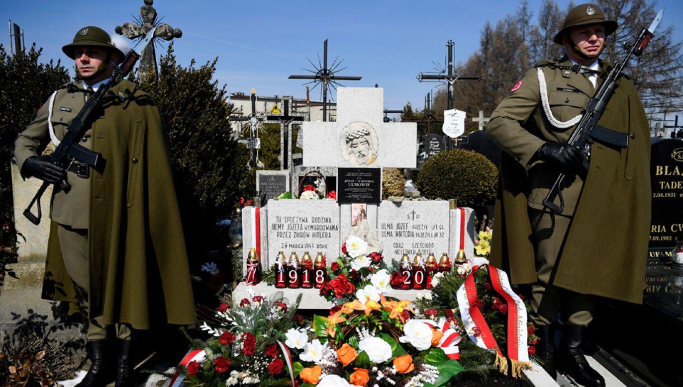 24 marca 1944 roku rodzina Ulmów została wymordowana za ukrywanie Żydów (fot. PAP/Darek Delmanowicz)